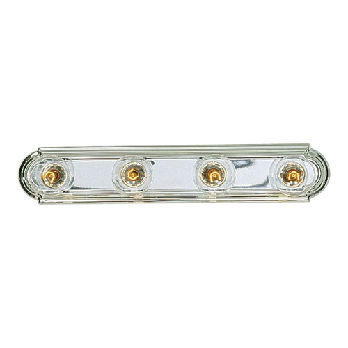 Progress Lighting Progress Bathroom Light in Chrome Finish P3025-15