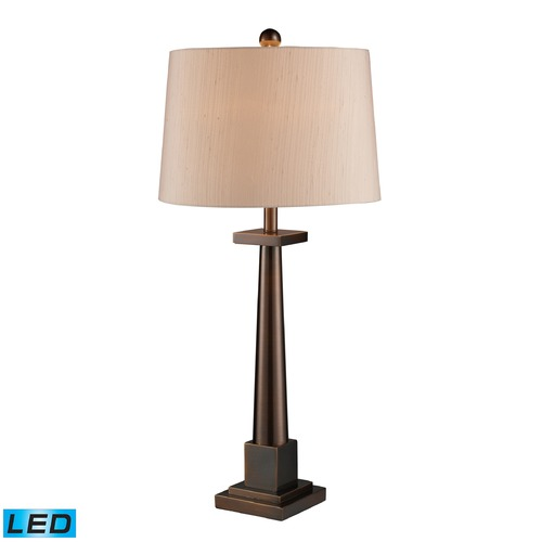 Dimond Lighting Dimond Lighting Dunbrook LED Table Lamp with Empire Shade D1404-LED