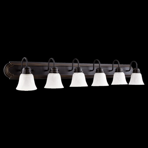 Quorum Lighting Quorum Lighting Old World Bathroom Light 5094-6-195