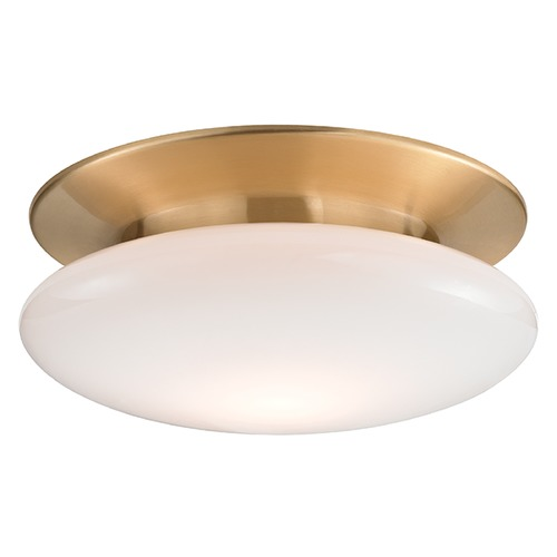 Hudson Valley Lighting Irvington LED Flushmount Light - Satin Brass 7015-SB