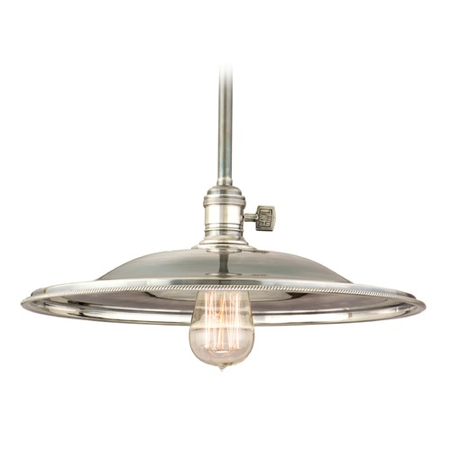 Hudson Valley Lighting Hudson Valley Lighting Heirloom Old Bronze Pendant Light with Bowl / Dome Shade 9001-OB-MM2