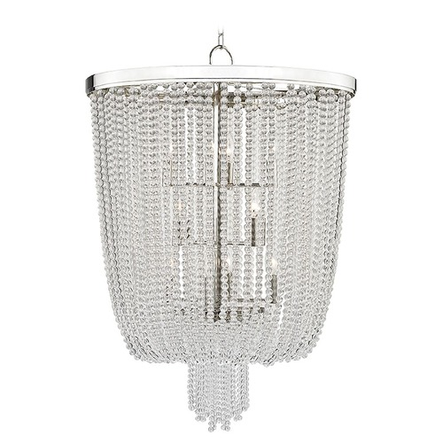 Hudson Valley Lighting Hudson Valley Lighting Royalton Polished Nickel Pendant Light 9026-PN