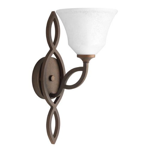 Progress Lighting Progress Lighting Monogram Roasted Java Sconce P7167-102