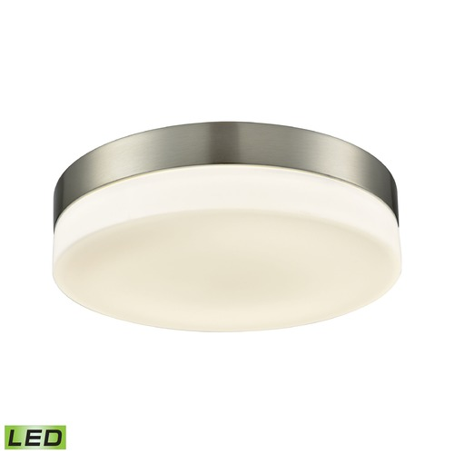 Alico Industries Lighting Alico Lighting Holmby Satin Nickel LED Flushmount Light FML4075-10-16M