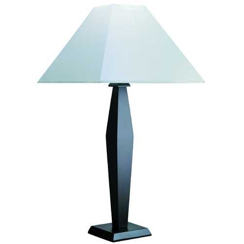 Lite Source Lighting Lite Source Lighting Largo Table Lamp with Square Shade LSF-3615D/WAL