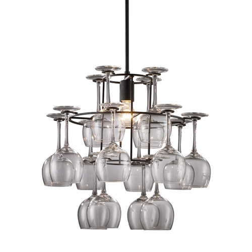 Elk Lighting Wine Glass Chandelier 14040/1