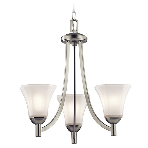 Kichler Lighting Kichler Lighting Serena Mini-Pendant Light with Bell Shade 43630NI