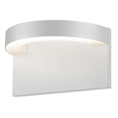 Sonneman Lighting Sonneman Cusp Textured White LED Outdoor Wall Light 7226.98-WL