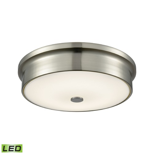 Alico Industries Lighting Alico Lighting Towne Satin Nickel LED Flushmount Light FML4225-10-16M