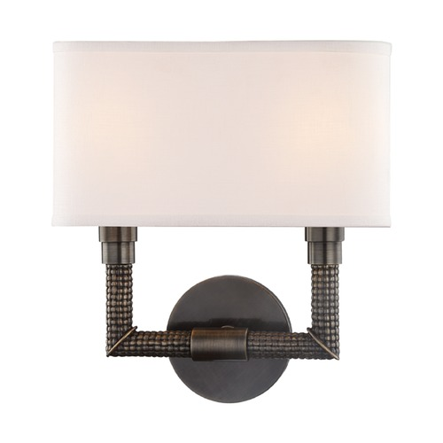 Hudson Valley Lighting Hudson Valley Lighting Dubois Distressed Bronze Sconce 1022-DB