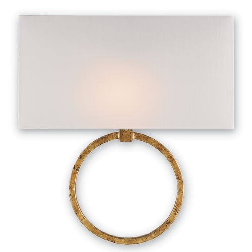 Currey and Company Lighting Currey and Company Lighting Gold Leaf Sconce 5902