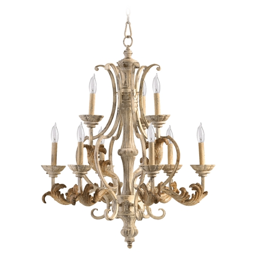 Quorum Lighting Quorum Lighting Florence Persian White Chandelier 6037-9-70