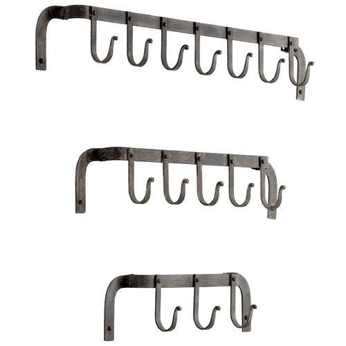 Cyan Design Cyan Design Morty's Rustic Gray Coat Racks & Hook 05088