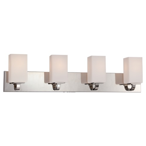 Nuvo Lighting Nuvo Lighting Vista Polished Nickel Bathroom Light 60/5184