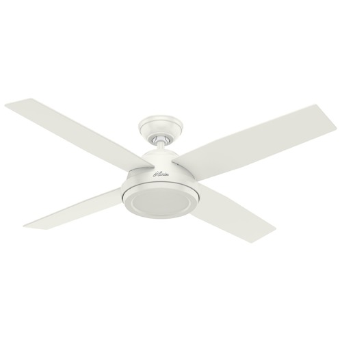 Hunter Fan Company Hunter Fan Company Dempsey Fresh White Ceiling Fan  59250