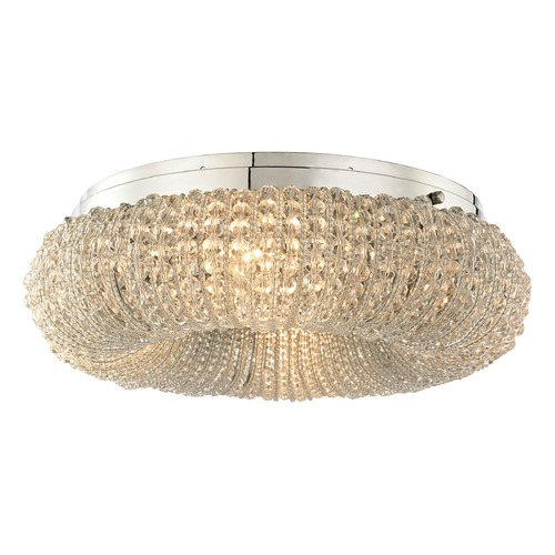 Elk Lighting Elk Lighting Crystal Ring Polished Chrome Semi-Flushmount Light 45290/4