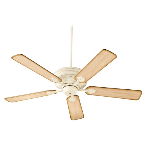 Quorum Lighting Quorum Lighting Barclay Persian White Ceiling Fan Without Light 76525-70