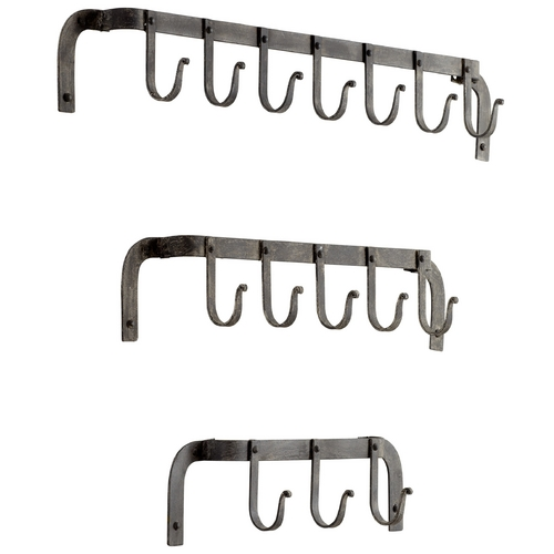 Cyan Design Cyan Design Morty's Rustic Gray Coat Racks & Hook 05089