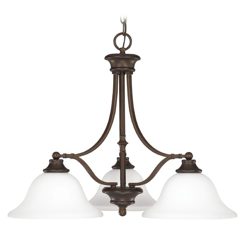 Capital Lighting Capital Lighting Belmont Burnished Bronze Chandelier 3413BB-237