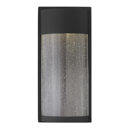 Hinkley Lighting Hinkley Lighting Shelter Black LED Outdoor Wall Light 1340BK