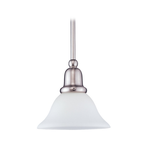 Sea Gull Lighting Mini-Pendant Light with White Glass 69459BLE-962
