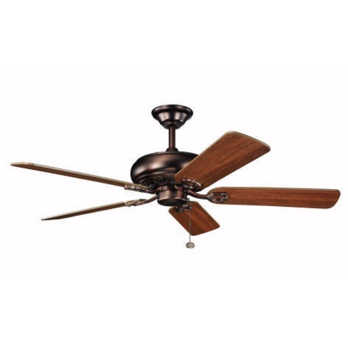 Kichler Lighting Kichler 52-Inch Five-Blade Bronze Ceiling Fan 300118OBB