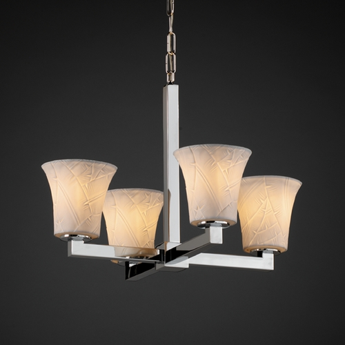 Justice Design Group Justice Design Group Limoges Collection Chandelier POR-8829-20-BANL-CROM