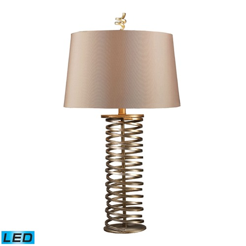Dimond Lighting Dimond Lighting Santa Fe Muted Gold LED Table Lamp with Empire Shade D1519-LED