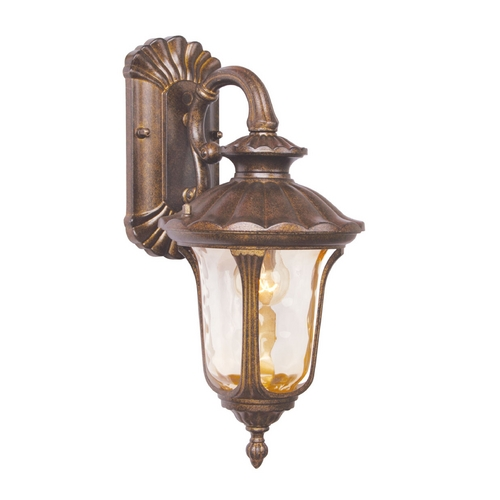 Livex Lighting Livex Lighting Oxford Moroccan Gold Outdoor Wall Light 7651-50