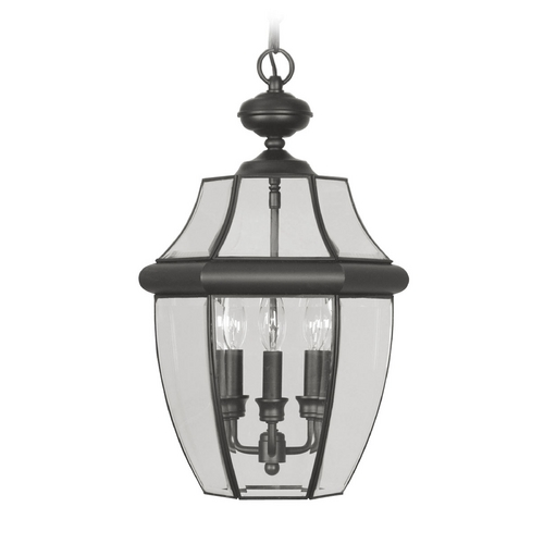 Livex Lighting Livex Lighting Monterey Black Outdoor Hanging Light 2355-04