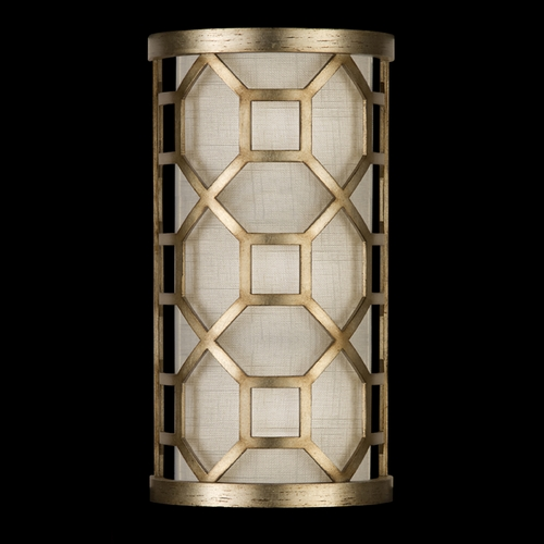 Fine Art Lamps Fine Art Lamps Allegretto Gold Burnished Gold Leaf with Subtle Brown Highlights Sconce 816850-2GU