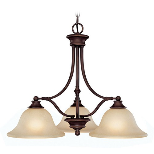 Capital Lighting Capital Lighting Belmont Burnished Bronze Chandelier 3413BB-259