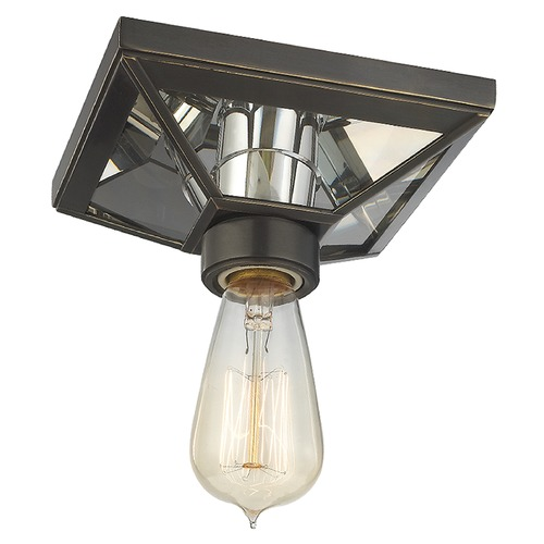 Hudson Valley Lighting Thurston 1 Light Flushmount Light - Old Bronze 5080-OB