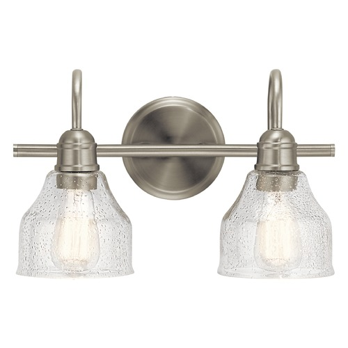 Kichler Lighting Kichler Lighting Avery Brushed Nickel Bathroom Light 45972NI