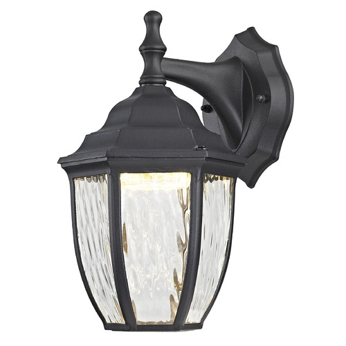 Design Classics Lighting Black LED Outdoor Wall Lantern 5047 BK 3000K/80CRI