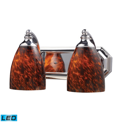 Elk Lighting Elk Lighting Bath and Spa Polished Chrome LED Bathroom Light 570-2C-ES-LED