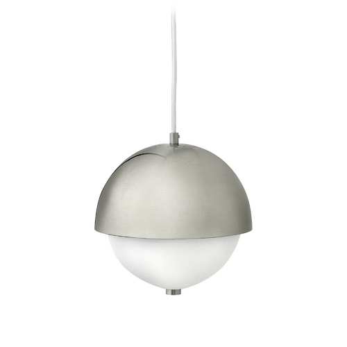Frederick Ramond Modern Mini-Pendant Light with White Glass FR38510BNI
