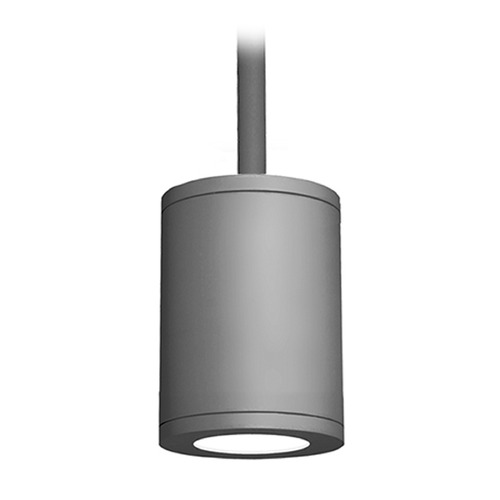 WAC Lighting 5-Inch Graphite LED Tube Architectural Pendant 2700K 1850LM DS-PD05-F27-GH