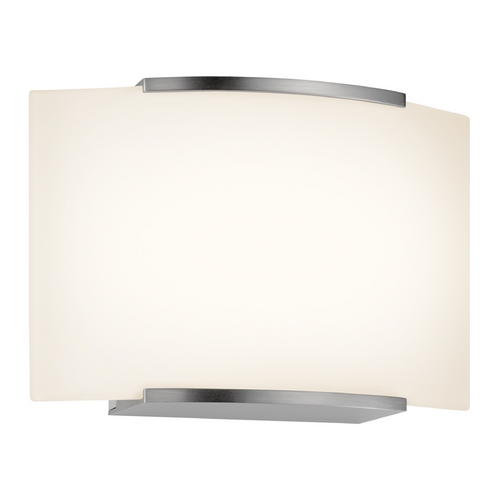 Sonneman Lighting Sonneman Lighting Wave Satin Nickel LED Sconce 3871.13LED