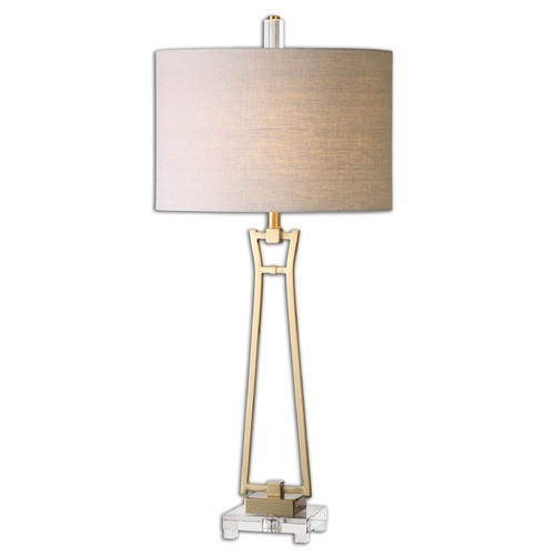 Uttermost Lighting Uttermost Leonidas Gold Table Lamp 26144-1