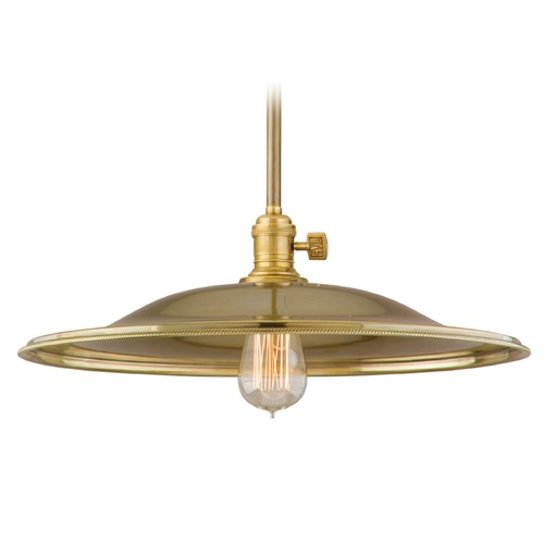 Hudson Valley Lighting Hudson Valley Lighting Heirloom Polished Nickel Pendant Light with Bowl / Dome Shade 9001-PN-ML2