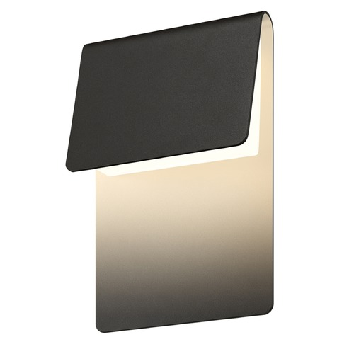 Sonneman Lighting Sonneman Ply Textured Bronze LED Outdoor Wall Light 7230.72-WL