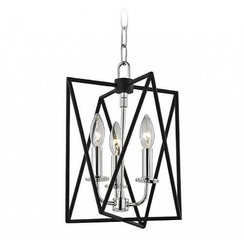 Hudson Valley Lighting Hudson Valley Lighting Laszlo Polished Nickel Pendant Light 1110-PN