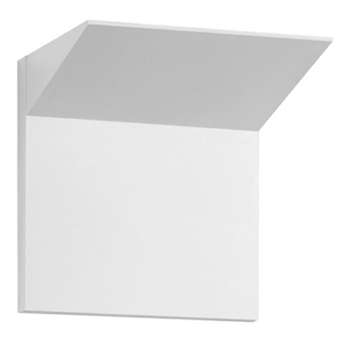 Sonneman Lighting Sonneman Lighting Wedge Textured White LED Sconce 2370.98