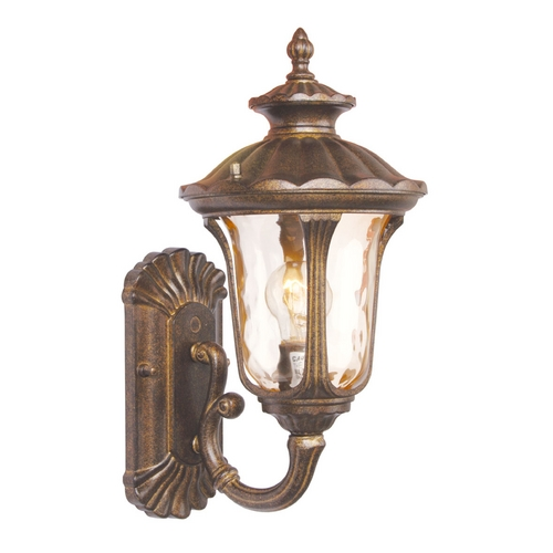 Livex Lighting Livex Lighting Oxford Moroccan Gold Outdoor Wall Light 7650-50