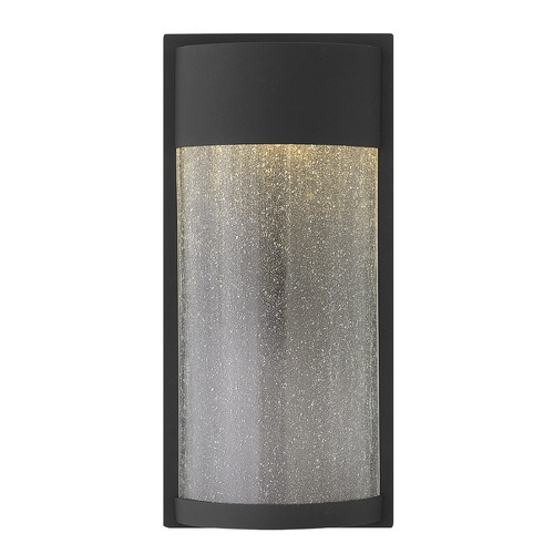 Hinkley Lighting Hinkley Lighting Shelter Black LED Outdoor Wall Light 1344BK