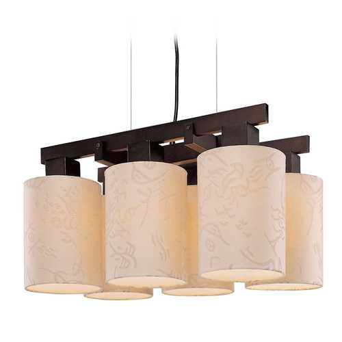 George Kovacs Lighting Modern Pendant Lights in Antique Dorian Bronze Finish P8086-615