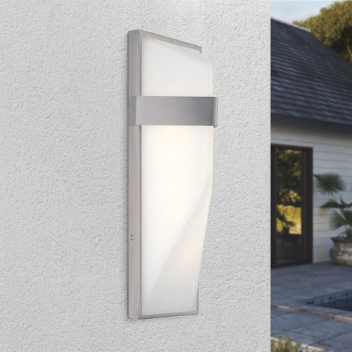 George Kovacs Lighting George Kovacs Pocket Silver Dust LED Outdoor Wall Light P1237-566-L