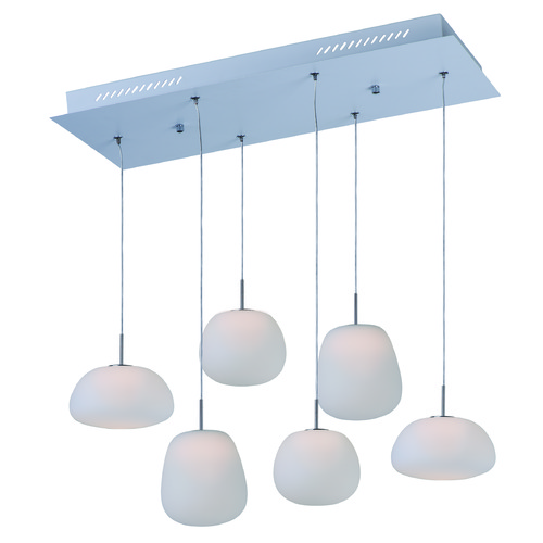 ET2 Lighting Puffs White LED Multi-Light Pendant E21124-11WT