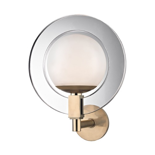 Hudson Valley Lighting Hudson Valley Lighting Caswell Aged Brass LED Sconce 5101-AGB
